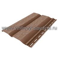 Виниловый сайдинг Mitten Chestnut brown
