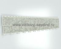 Сайдинг Тесos натуральный камень белый