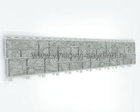 Сайдинг Tecos натуральный камень серый