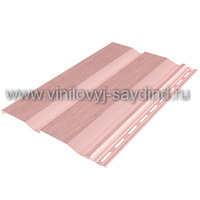 Виниловый сайдинг Тecos светло-розовый